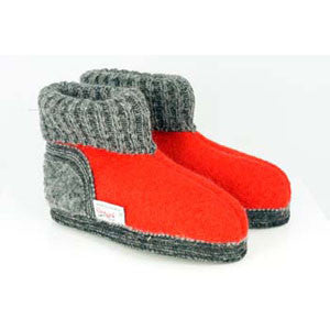 Boiled Wool Slipper Boots