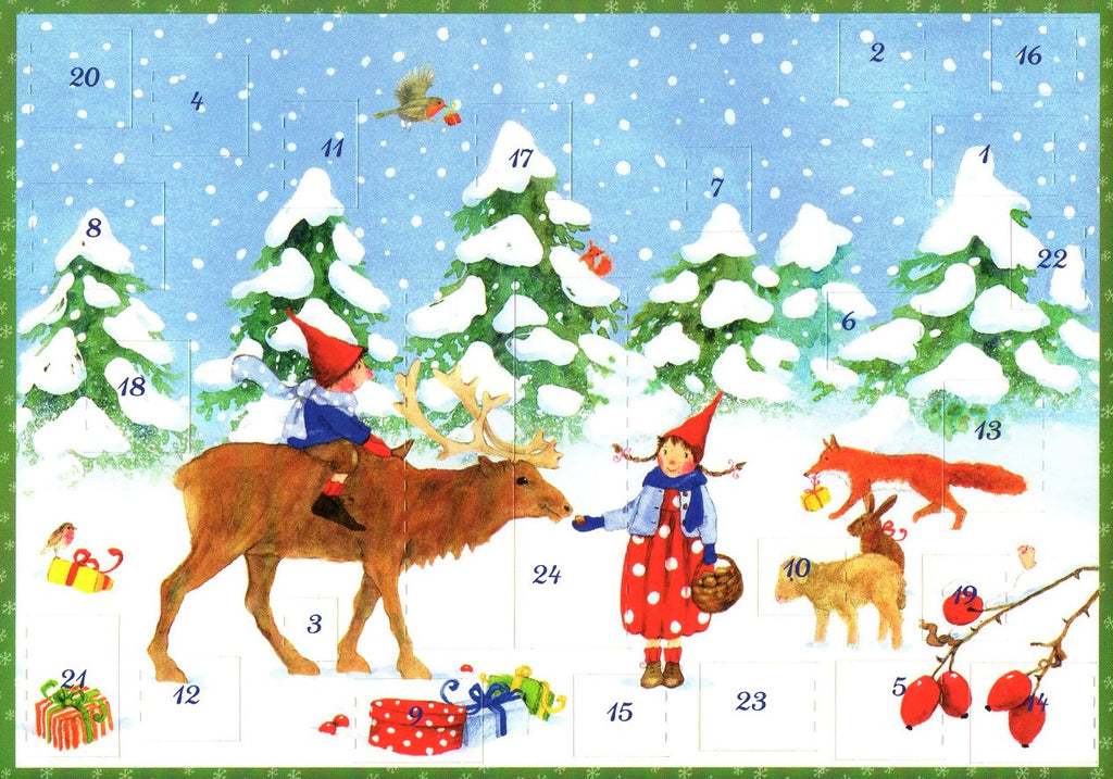 Winter with Pippa and Pelle Advent Calendar