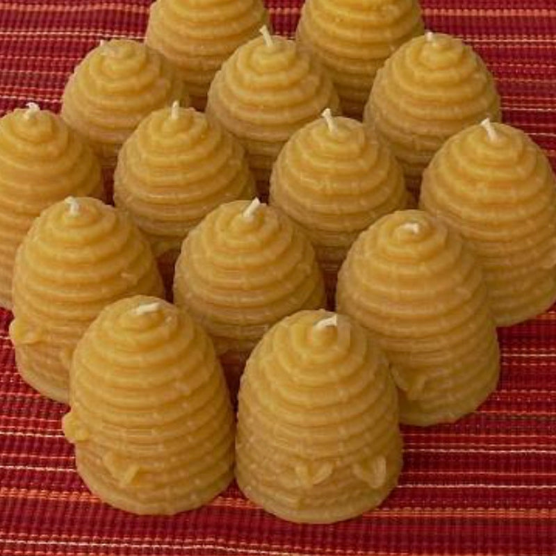 Beeswax Beehive Candle