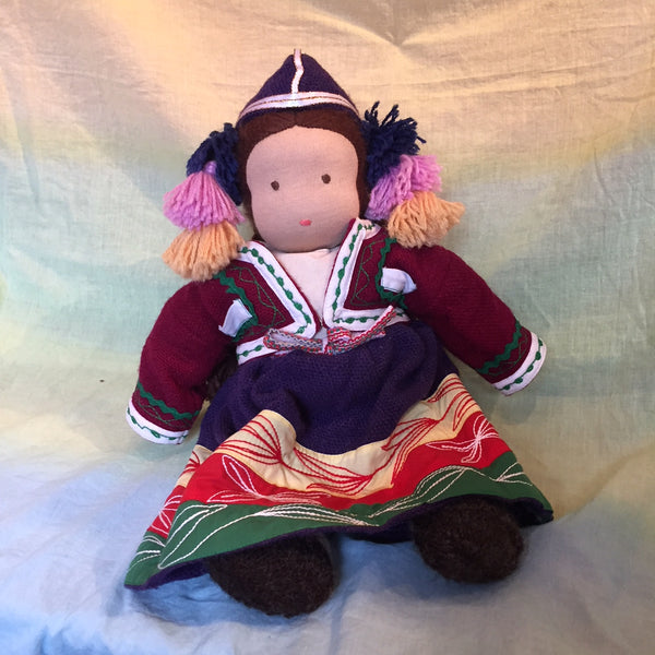 Q'War Project Doll with Andean Dress