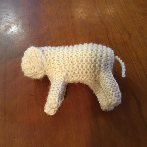Knitted Sheep, Small