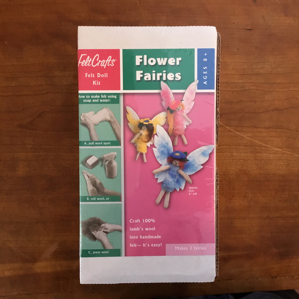 Felt Flower Fairies Kit