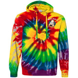 What's That? Tie-Dyed Pullover Hoodie