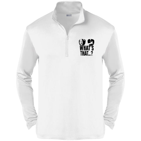 What's That Macho Lightweight 1/4-Zip Shirt