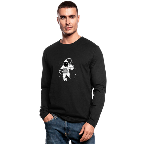 Men's Long Sleeve T-Shirt - black