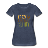Women's Premium T-Shirt - heather blue