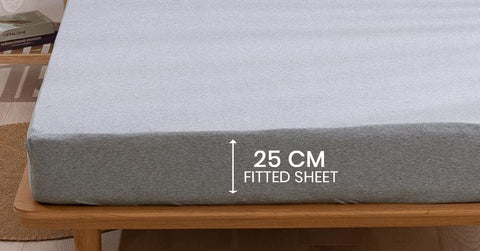 25 cm Fitted Sheets