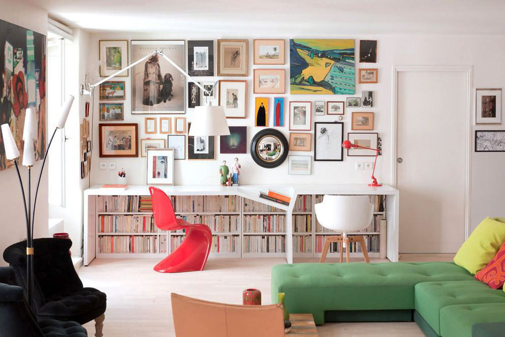 How to select art for your home office