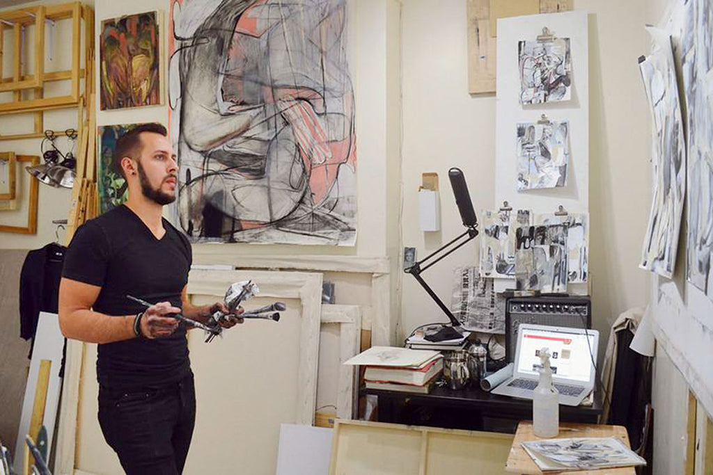 How to go on an artist studio visit