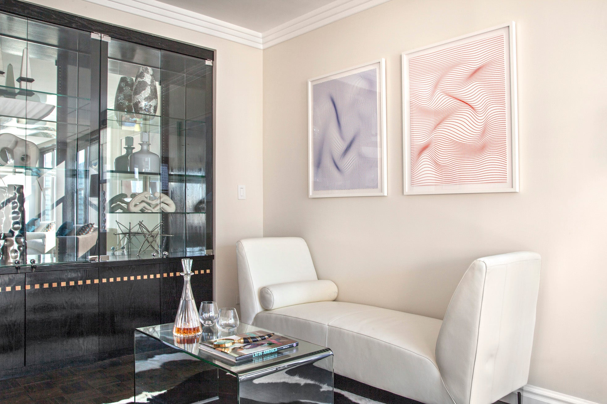 staging a home with art manhattan new york