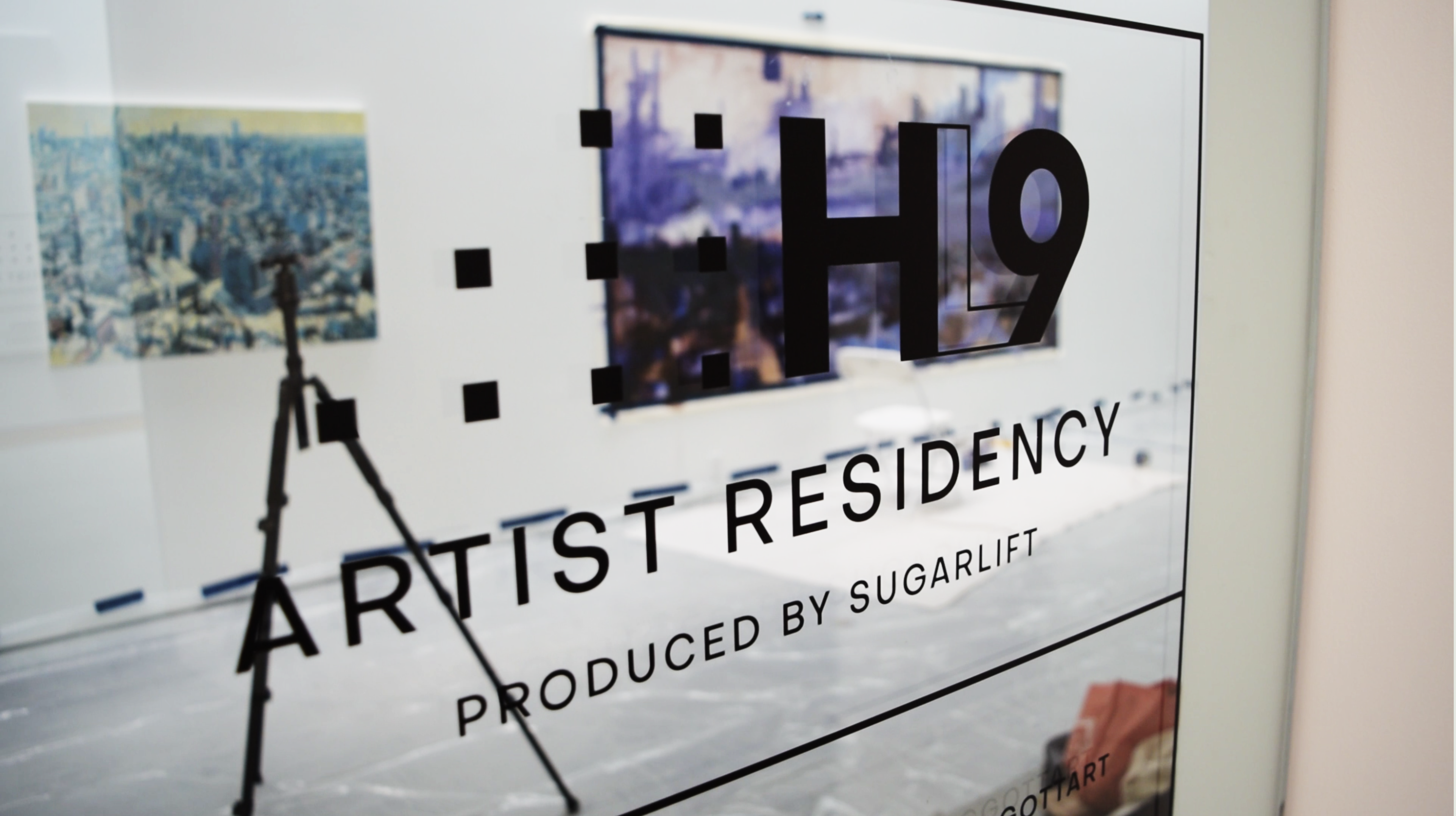 High Line Nine x Sugarlift artist residency photo by Chris Kent