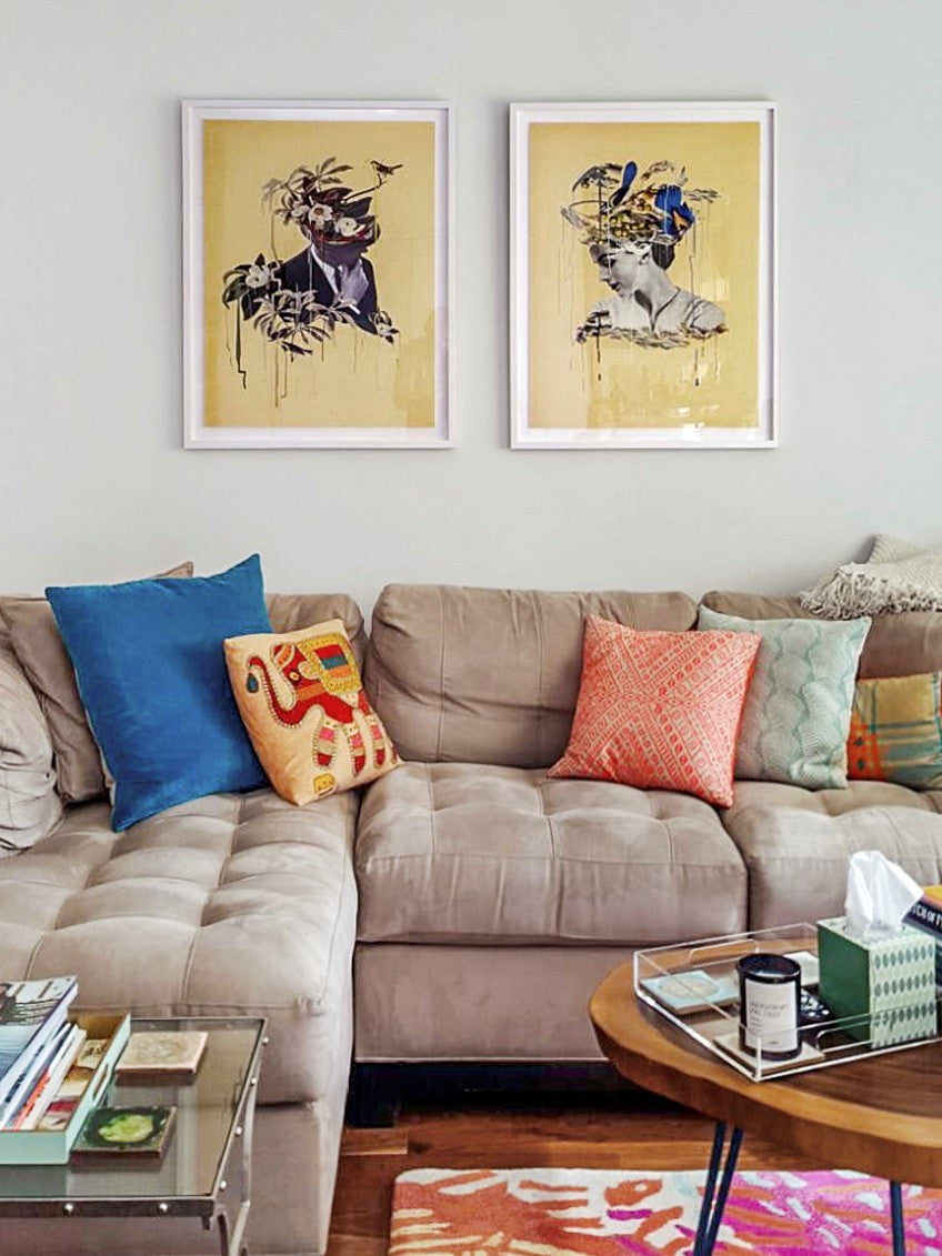 lizzie gill sugarlift art consultants art above the couch