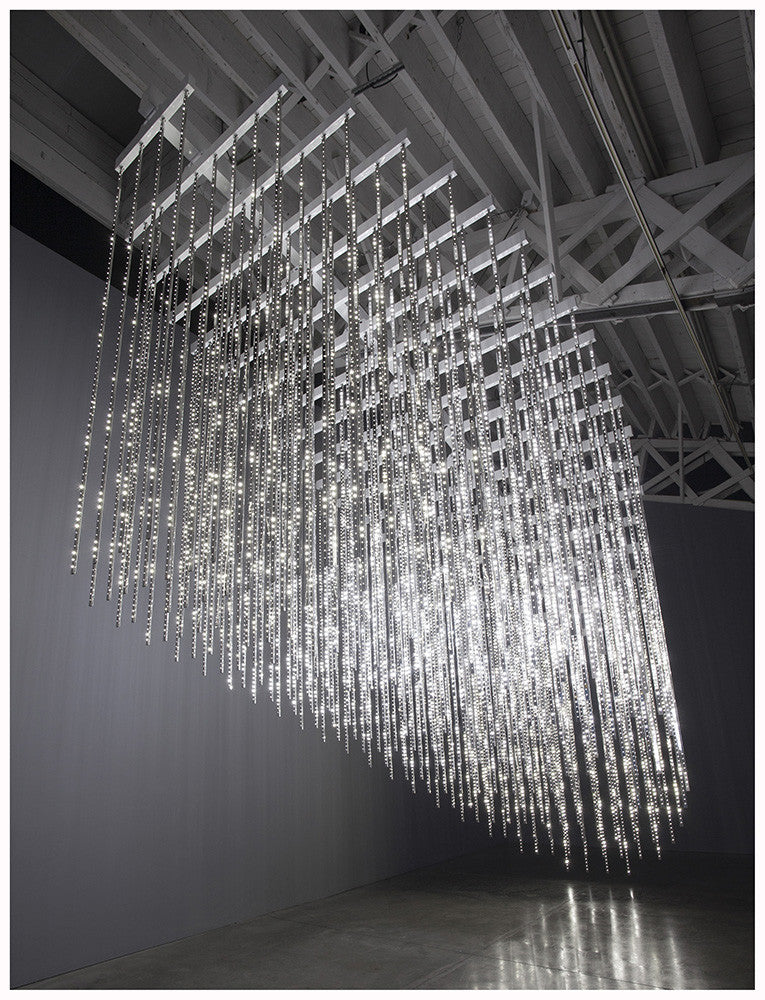 Pace, Leo Villareal, Gallery, Sugarlift, Installation, LED Lights