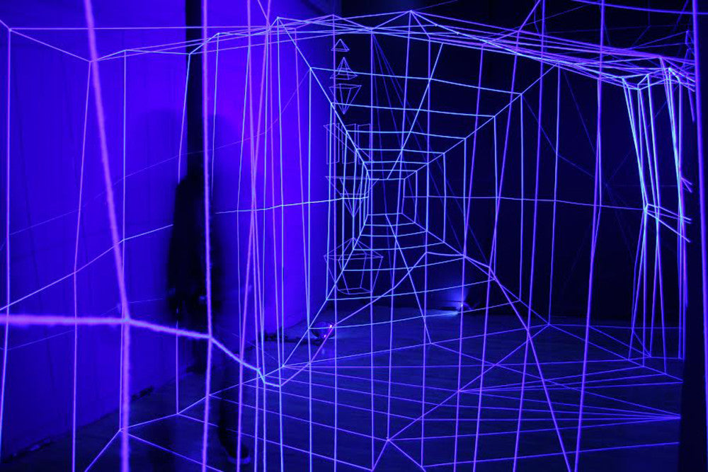 Installation, NYC, Art, Artist, Neon, Black Light, Immersive