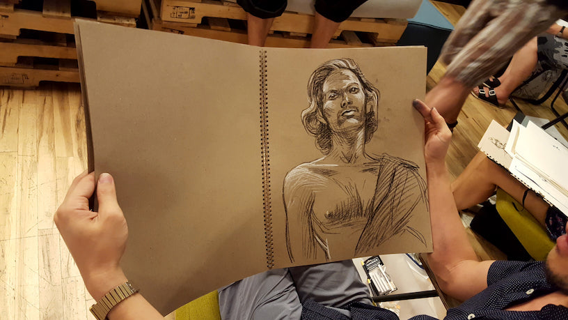 WeWork Drink and Draw Sugarlift