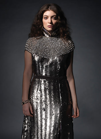 Lorde wearing Imogen Belfield