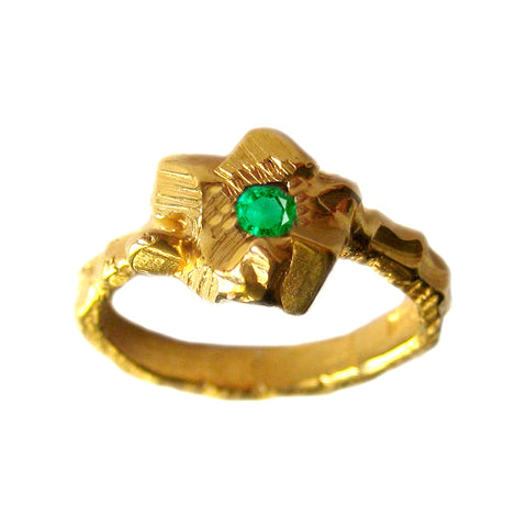 Rock Candy Emerald Ring