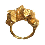 Chunky Band of Rocks Ring