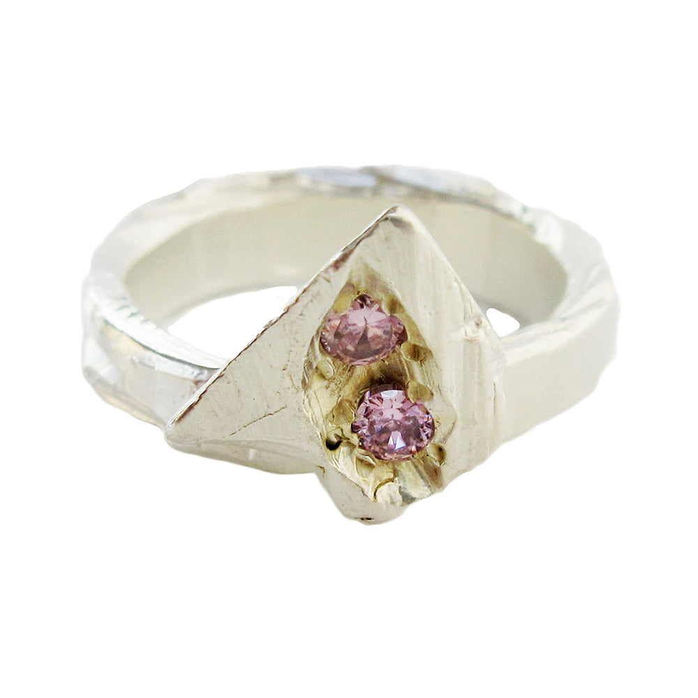 Pink Bloom Ring