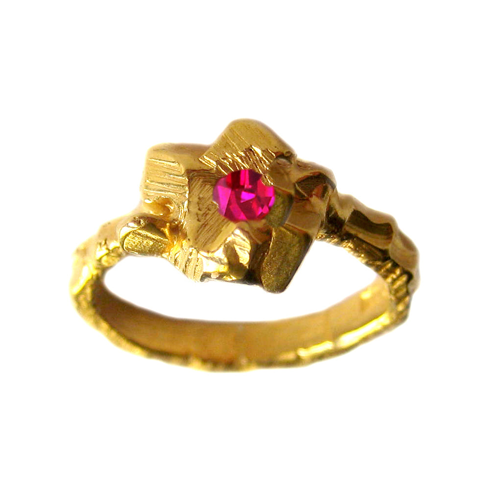 Rock Candy Pink Ring