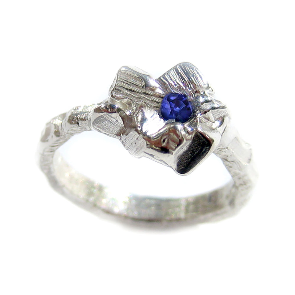 Rock Candy Blue Ring