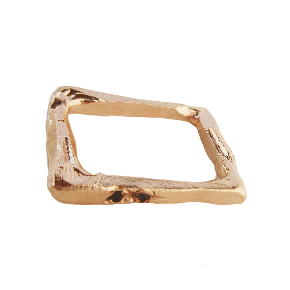 Diamond Rectangle II Ring