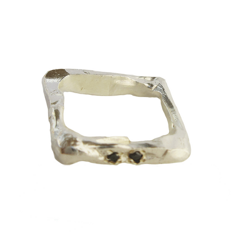 Diamond Rectangle I Ring