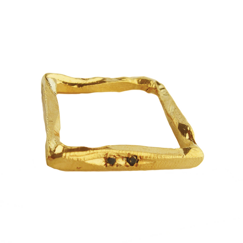Diamond Rectangle III Ring