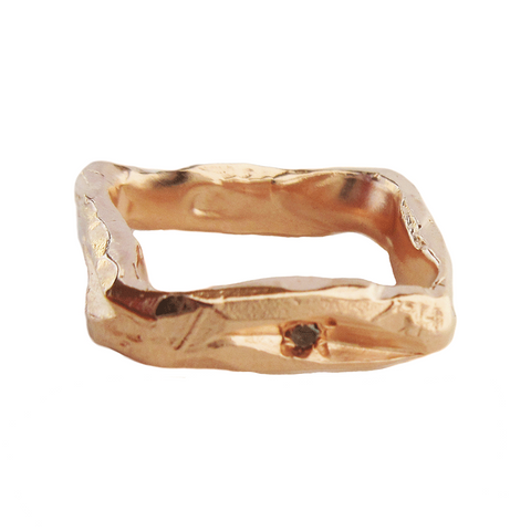 Diamond Square I Ring