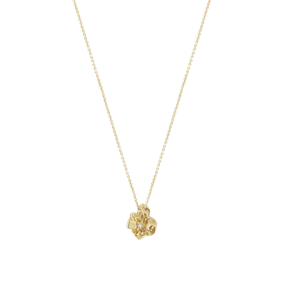 Little Diamond Rocks Necklace