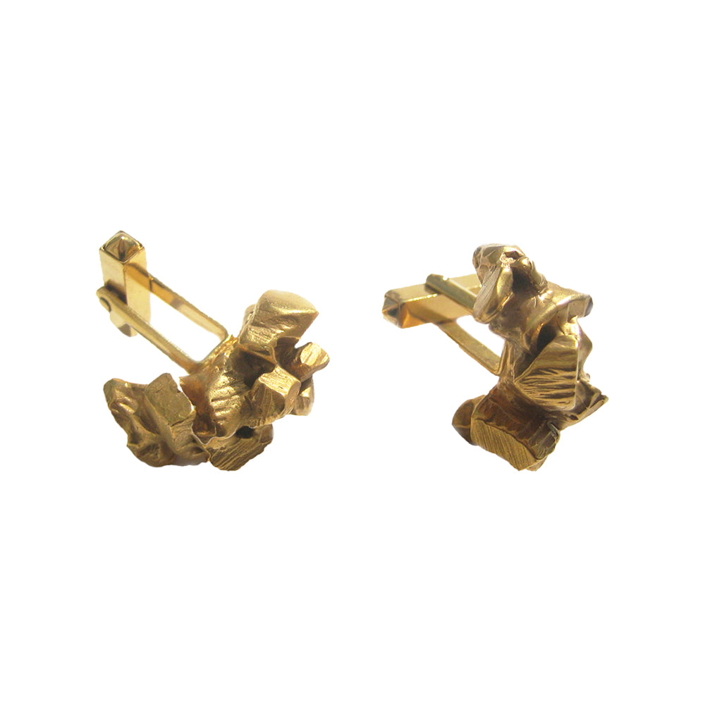 Rocks Carved Cufflinks