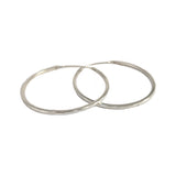 Large Flint Edge Hoops