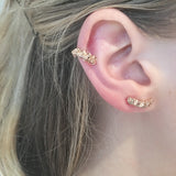 Mini Cycad Ear Cuff