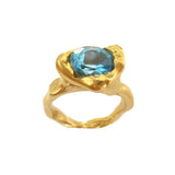 Sedona Blue Topaz Ring