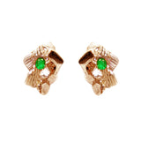 Rock Candy Emerald Earrings