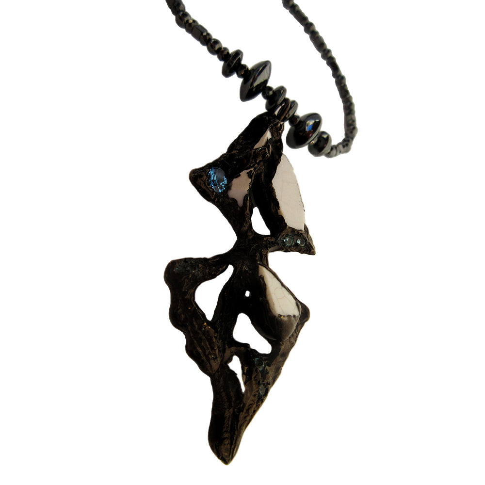 Dark Spear Multi Wrap Necklace