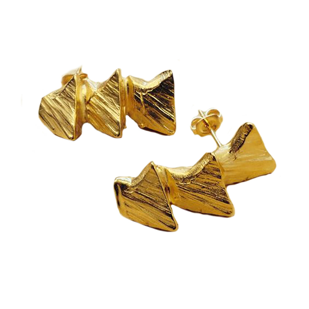 Triple Stega Earrings