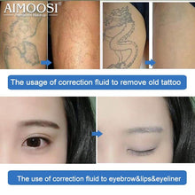 Load image into Gallery viewer, 2pcs Aimoosi Correction Fluid Remove Tattoo Permanent makeup eyebrow tattoo microblading eyebrow removal Auxiliary accessories