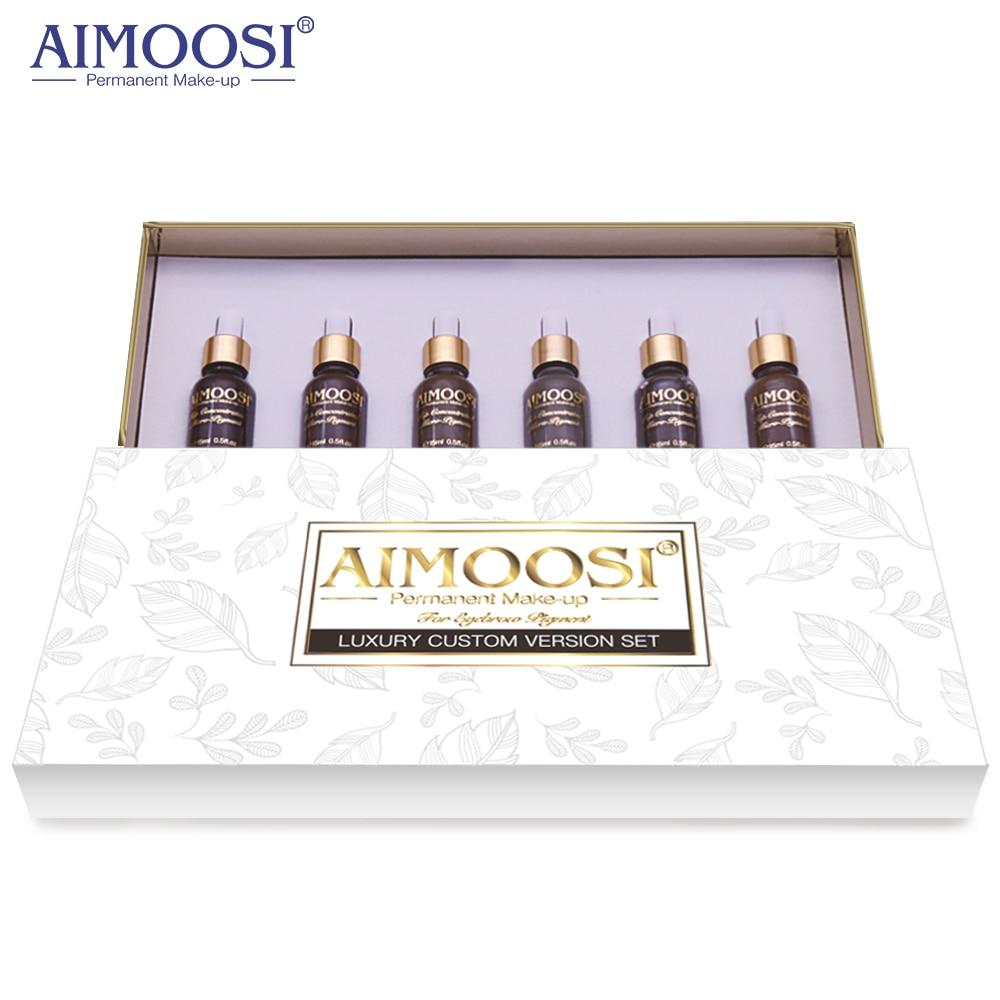 AIMOOSI Top Concentrated  Eyebrow Micro-pigment for Permanent makeup tattoo Eyebrow Microblading pigment Combination tattoo ink