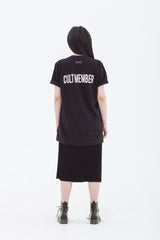 Cult Member T-Shirt Black
