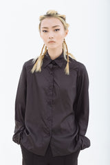FURTHER REDUCTION: Embrace Black Silk Shirt