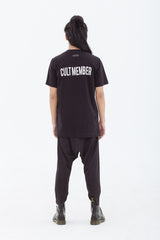 LAST PIECE: Cult Member T-Shirt Black