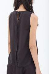 FURTHER REDUCTION: Crepe Sleeveless Top