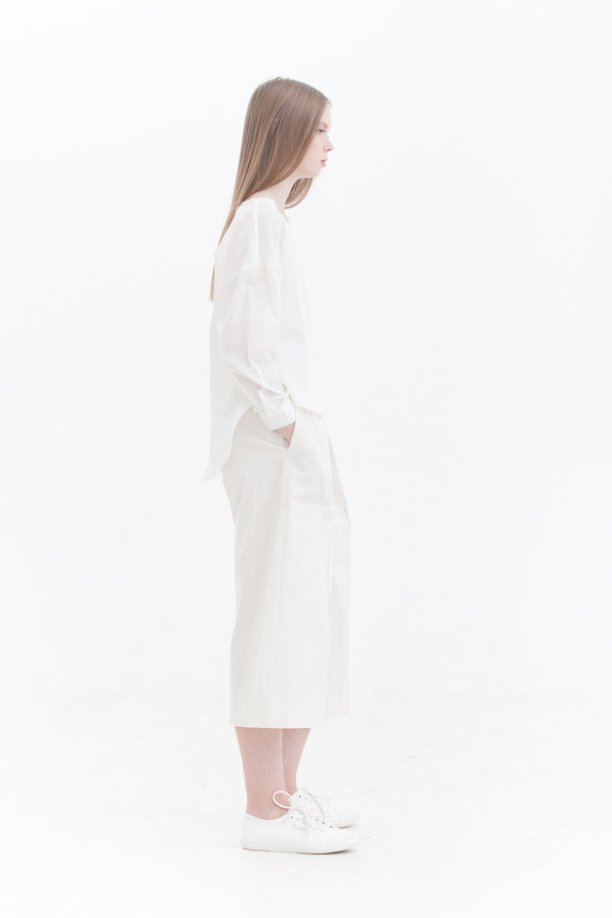 LAST PIECE: White Dolman Sleeve Top