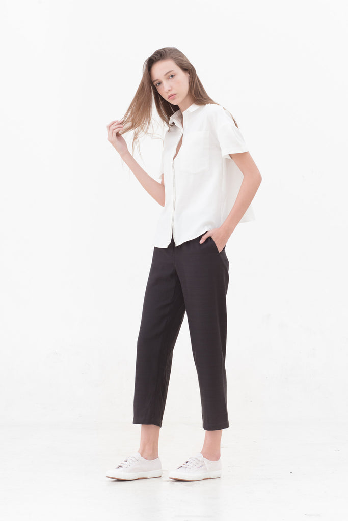 Best Seller — Black Pull Up Pants