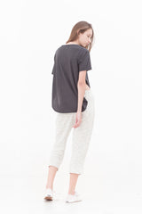 Magma Grey Slit T-Shirt