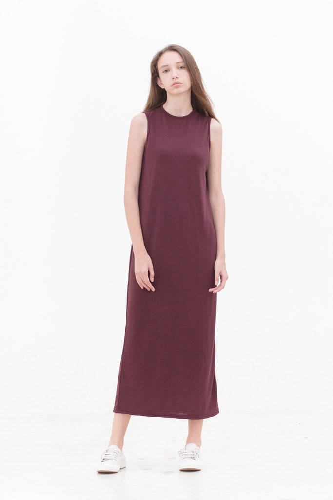 Dark Berry Athena Dress