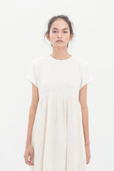 Portraiture Dress Ivory White