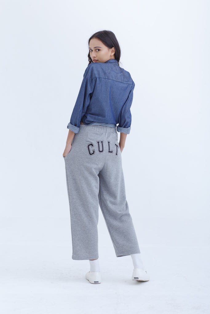 Unisex Grey Cult Sweatpants