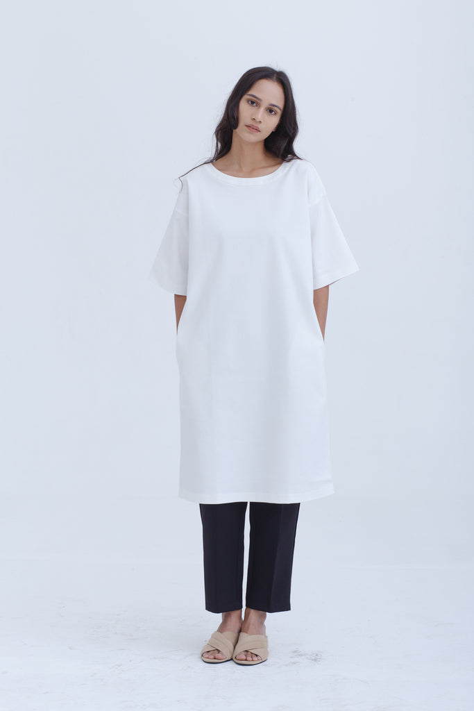 White Nisbi Dress